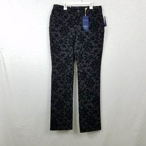 Charter Club Velvet Flower Design Pants